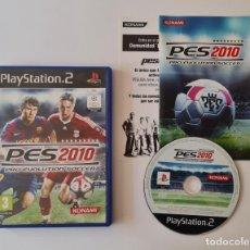 Videojuegos y Consolas: JUEGO PS2 PES 2010 (PRO EVOLUTION SOCCER 2010). Lote 289522158