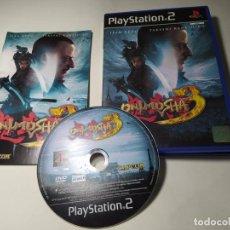 Videojuegos y Consolas: ONIMUSHA 3 ( PS2 - PAL - ESP) (T4). Lote 289885648