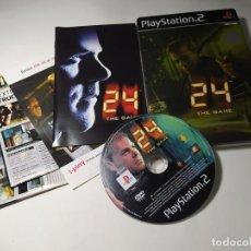 Videojuegos y Consolas: 24: THE GAME ( ED. ESPECIAL )( PS2 - PAL - ESP) (T4). Lote 289888303