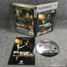 Videojuegos y Consolas: TOM CLANCYS SPLINTER CELL PANDORA TOMORROW SONY PLAYSTATION 2 PS2. Lote 289938878