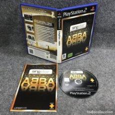 Videojuegos y Consolas: SINGSTAR ABBA SONY PLAYSTATION 2 PS2. Lote 289938893