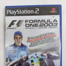 Videojuegos y Consolas: JUEGO PLAY STATION 2, FORMULA ONE 2003 FERNANDO ALONSO. Lote 290730513
