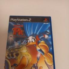 Videojuegos y Consolas: DONALD PK EL SUPERHEROE PS2, +MANUAL ALGUNAS MARCAS EL CD NO PROBADO. Lote 293298583