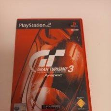 Videojuegos y Consolas: GRAN TURISMO 3, PS2 + MANUAL LIGERAS MARCAS DE USO NO PROBADO. Lote 293300048