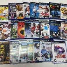 Videojogos e Consolas: LOTE DE 22 VIDEOJUEGOS PARA PS2. Lote 293580723