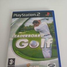 Videojuegos y Consolas: LEADERBOARD GOLF. JUEGO, CAJA Y MANUAL PS2. Lote 293757853