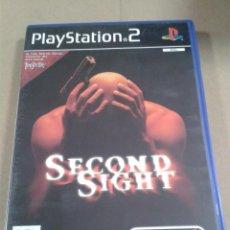 Videojuegos y Consolas: SECOND SIGHT PS2 PAL ESPAÑA COMPLETO - PLAYSTATION 2. Lote 293958523