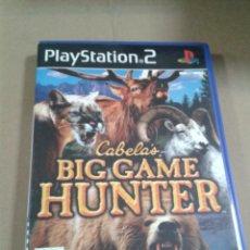 Videojuegos y Consolas: CABELA´S BIG GAME HUNTER - PLAYSTATION 2. Lote 293958988