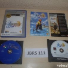 Videojuegos y Consolas: PS2 - FINAL FANTASY X , PAL ESPAÑOL , COMPLETO. Lote 293999958