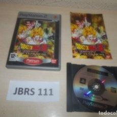 Videojuegos y Consolas: PS2 - DRAGON BALL Z BUNDOKAI TENKAICHI , PAL ESPAÑOL , COMPLETO. Lote 293999998