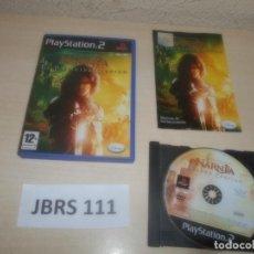 Videojuegos y Consolas: PS2 - LAS CRONICAS DE NARNIA - EL PRINCIPE CASPIAN , PAL ESPAÑOL , COMPLETO. Lote 294000163