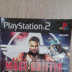 Videojuegos y Consolas: MACE GRIFFIN BOUNTY HUNTER-PS2-PLAYSTATION 2-VIVENDI-PAL-AÑO 2003. Lote 294108488