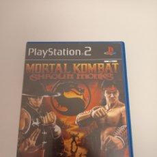 Videogiochi e Consoli: JUEGO PS2 MORTAL KOMBAT SHAOLIN MONKS COMPLETO EN BUEN ESTADO EN CASTELLANO. Lote 294446453