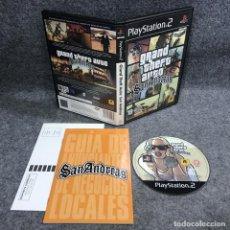 Videojuegos y Consolas: GRAND THEFT AUTO SAN ANDREAS SONY PLAYSTATION 2 PS2. Lote 295382678