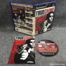 Videojuegos y Consolas: TRUE CRIME STREETS OF LA SONY PLAYSTATION 2 PS2. Lote 295382703
