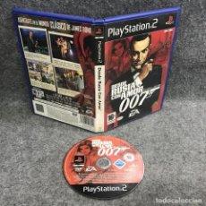 Videojuegos y Consolas: DESDE RUSIA CON AMOR SONY PLAYSTATION 2 PS2. Lote 295382718