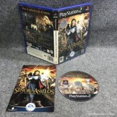 Videojuegos y Consolas: EL SEÑOR DE LOS ANILLOS EL RETORNO DEL REY SONY PLAYSTATION 2 PS2. Lote 295382743