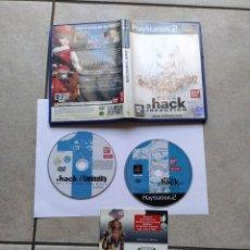 Videojuegos y Consolas: .HACK // INFECTION SONY PS2 PLAYSTATION 2 COMPLETO PAL-ESPAÑA. Lote 295776348