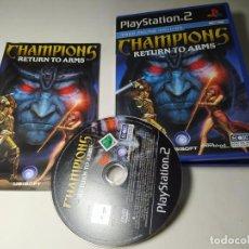 Videogiochi e Consoli: CHAMPIONS : RETURN TO ARMS ( PS2 - PAL - ESP) (2). Lote 295847138