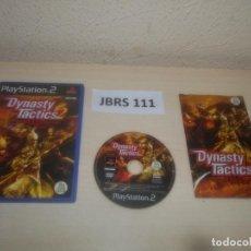 Videojuegos y Consolas: PS2 - DYNASTY TACTICS 2 , PAL ESPAÑOL , COMPLETO. Lote 295926283