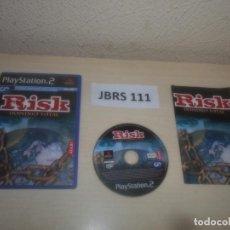 Videojuegos y Consolas: PS2 - RISK - DOMINIO TOTAL , PAL ESPAÑOL , COMPLETO. Lote 295926328