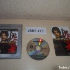 Videojuegos y Consolas: PS2 - ONIMUSHA WARLORDS , PAL ESPAÑOL , COMPLETO. Lote 295926373