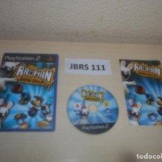 Videojuegos y Consolas: PS2 - RAYMAN RAVING RABBIDS , PAL ESPAÑOL , COMPLETO. Lote 295926598