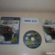 Videojuegos y Consolas: PS2 - NEED FOR SPEED PROSTRET , PAL ESPAÑOL , COMPLETO. Lote 295926653