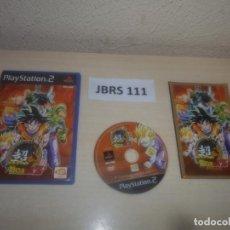 Videojuegos y Consolas: PS2 - SUPER DRAGON BALL Z , PAL ESPAÑOL , COMPLETO. Lote 295926728