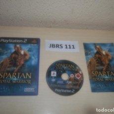 Videojuegos y Consolas: PS2 - SPARTAN TOTAL WARRIOR , PAL ESPAÑOL , COMPLETO. Lote 295926878