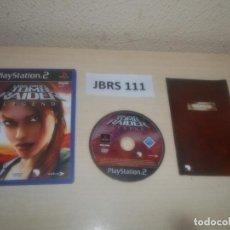Videojuegos y Consolas: PS2 - TOMB RAIDER - LEGEND , PAL ESPAÑOL , COMPLETO. Lote 295927323