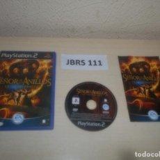 Videojuegos y Consolas: PS2 - EL SEÑOR DE LOS ANILLOS - LA TERCERA EDAD , PAL ESPAÑOL , COMPLETO. Lote 295927383