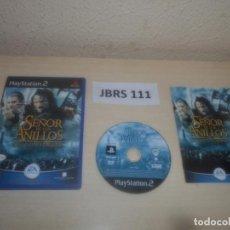 Videojuegos y Consolas: PS2 - EL SEÑOR DE LOS ANILLOS - LAS DOS TORRES , PAL ESPAÑOL , COMPLETO. Lote 295927468