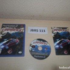 Videojuegos y Consolas: PS2 - NEED FOR SPEED CARBONO , PAL ESPAÑOL , COMPLETO. Lote 295927708