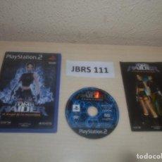 Videojuegos y Consolas: PS2 - TOMB RAIDER - EL ANGEL DE LA OSCURIDAD , PAL ESPAÑOL , COMPLETO. Lote 295928093