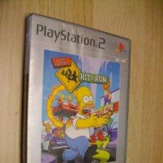Videojuegos y Consolas: THE SIMPSONS HIT & RUN PARA SONY PS2. Lote 297074198