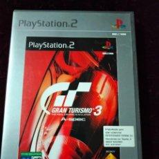 Videojuegos y Consolas: PLAYSTATION 2 - GRAN TURISMO 3: A-SPEC - PLATINUM. Lote 297118853