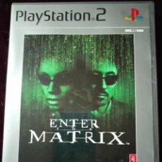 Videojuegos y Consolas: PLAYSTATION 2 - ENTER THE MATRIX- PLATINUM. Lote 297118923
