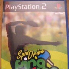 Videojuegos y Consolas: SPINDRIVE PING PONG, PLAYSTATION 2. . Lote 26356868
