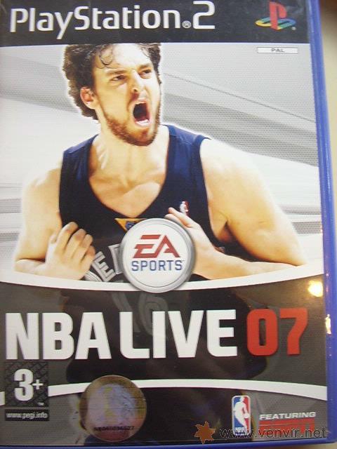 JUEGO ORIGINAL PARA PS2 NBA LIVE 07.SEMINUEVO. (Juguetes - Videojuegos y Consolas - Sony - PS2)