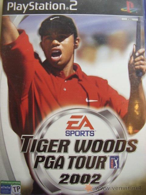 JUEGO ORIGINAL PARA PS2 TIGER WOODS PGA TOUR 2002.SEMINUEVO. (Juguetes - Videojuegos y Consolas - Sony - PS2)