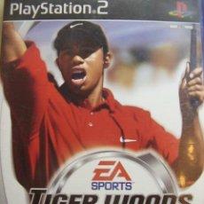 Videojuegos y Consolas: JUEGO ORIGINAL PARA PS2 TIGER WOODS PGA TOUR 2002.SEMINUEVO.. Lote 26831534