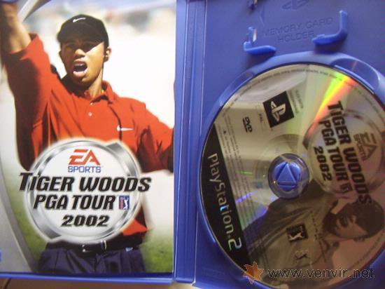 Videojuegos y Consolas: JUEGO ORIGINAL PARA PS2 TIGER WOODS PGA TOUR 2002.SEMINUEVO. - Foto 2 - 26831534