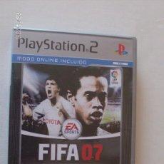 Videojuegos y Consolas: JUEGO PS2 FIFA 07 PLAY STATION 2. Lote 26856582