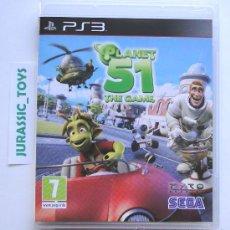 Videojuegos y Consolas: PS3 PLAYSTATION: JUEGO PLANET 51 / COMO NUEVO - IMPECABLE. Lote 30887341