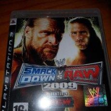 Videojuegos y Consolas: PS3, WWE SMACK DOWN VS RAW 2009. Lote 27806768