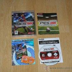 Videojuegos y Consolas: PES PRO EVOLUTION SOCCER 20009 COMPLETO PLAYSTATION 3 PAL ESPAÑA. Lote 28441715