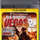 Videojuegos y Consolas: TOM CLANCY'S RAINBOW SIX VEGAS 2 - JUEGO PS3 TOTALMENTE EN CASTELLANO (PRECINTADO). Lote 28746231