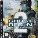 Videojuegos y Consolas: GHOST RECON ADVANCED WARFIGHTER 2 - JUEGO PS3 TOTALMENTE EN CASTELLANO (PRECINTADO). Lote 28746254