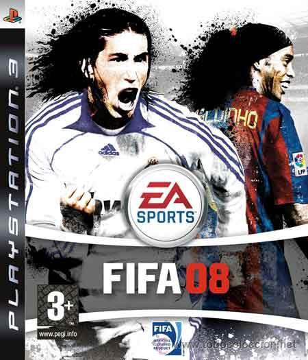 LOTE OFERTA JUEGO PLAYSTATION 3 - FIFA 08 - PS3 - MUY NUEVO Y CON MANUAL (Juguetes - Videojuegos y Consolas - Sony - PS3)